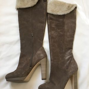 INC Over the Knee Suede Boots